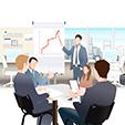 бизнесмены-обсуж-ают-рост-про-аж-в-выставках-бизнесмена-иаграммы-63820480