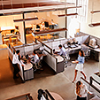 bigstock-Elevated-view-of-a-busy-open-p-252111307